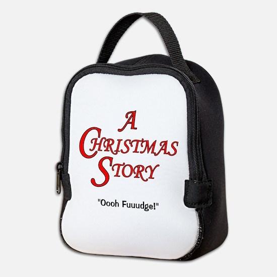 A Christmas Story Fudge Neoprene Lunch Bag