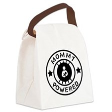 Mommy Powered Canvas Lunch Bag