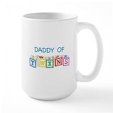Daddy of Twins Blocks Mugs