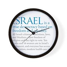 Israel_fact Wall Clock