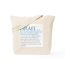 Israel_fact Tote Bag