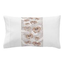 ghost crabs beach towel Pillow Case
