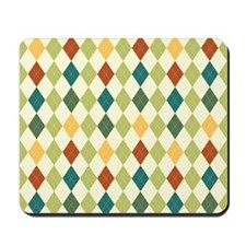 Paxton Argyle Pattern Mousepad