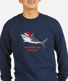 Personalized Christmas Shark T