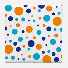 Adams Dot Pattern Tile Coaster