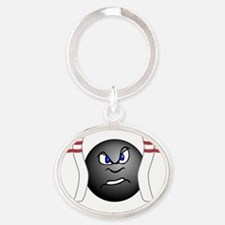 complete_w_1291_3 Oval Keychain