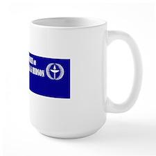 3-one world bumper stickert Mug