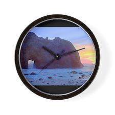 Pfeiffer Beach, Big Sur, California Wall Clock