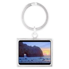 Pfeiffer Beach, Big Sur, Califo Landscape Keychain
