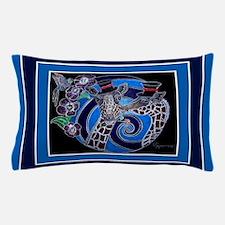 Top Hat Giraffe 29X19 Pillow Case
