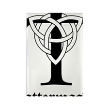 TATTERMASK-triquetra-sticker Rectangle Magnet