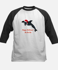 Personalized Christmas Whale Tee