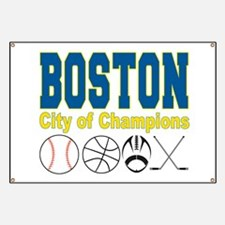 Boston City of Champions Banner