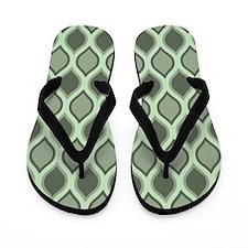 Rockport Wavy Lattice Pattern Flip Flops