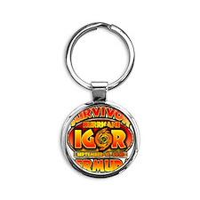 5-igor_cp_bermuda Round Keychain