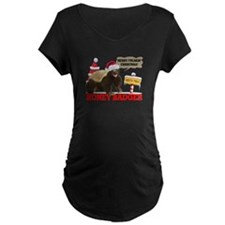 Honey Badger Merry Freakin' Christmas T-Shirt