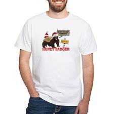 Honey Badger Merry Freakin' Christmas Shirt