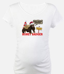 Honey Badger Merry Freakin' Christmas Shirt