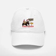 Honey Badger Merry Freakin' Christmas Baseball Baseball Cap