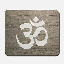 Namaste Yoga Symbol Mousepad