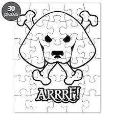 Pirate Beagle with Attitude Puzzle