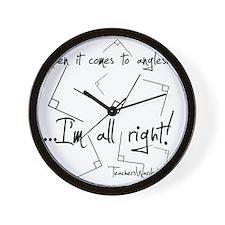 Im All Right Wall Clock