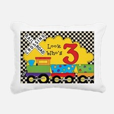 BDAYTRAININVITE3 Rectangular Canvas Pillow