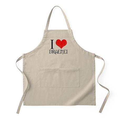 I Love Draenei BBQ Apron