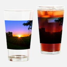 sunrise 9-15-10 Drinking Glass