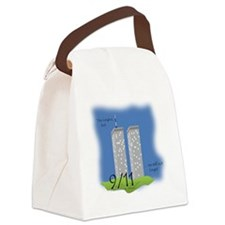 Shirt Ideas- 911 Twin Towers edit Canvas Lunch Bag
