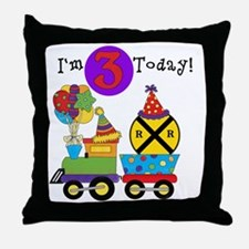 XPTRAINTHREE Throw Pillow