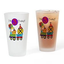 XPTRAINTHREE Drinking Glass