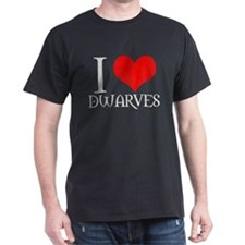 I Love Dwarves T-Shirt