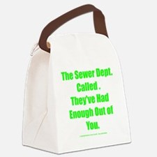 sewerdept Canvas Lunch Bag