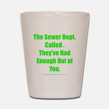 sewerdept Shot Glass