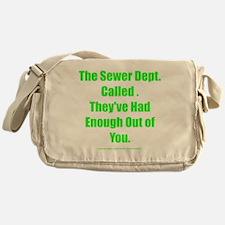 sewerdept Messenger Bag