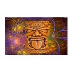 Tiki God Area Rug
