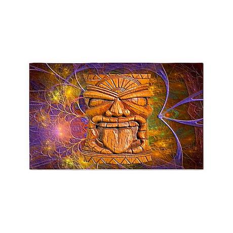 Tiki God Area Rug By Aaanativearts