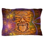 Tiki God Pillow Case