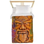Tiki God Twin Duvet