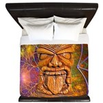 Tiki God King Duvet