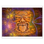 Tiki God Small Poster