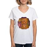 Tiki God Women's V-Neck T-Shirt
