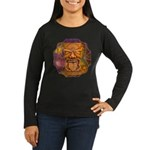 Tiki God Women's Long Sleeve Dark T-Shirt