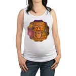 Tiki God Maternity Tank Top
