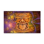 Tiki God Car Magnet 20 x 12