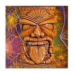 Tiki God Tile Coaster