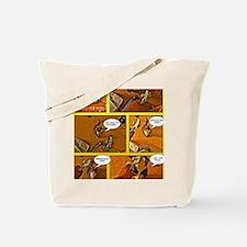 Begging Cat Tote Bag