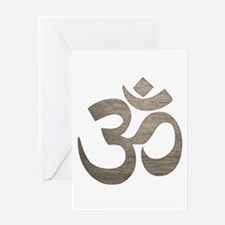 Namaste Symbol Greeting Cards