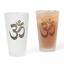 Namaste Symbol Drinking Glass